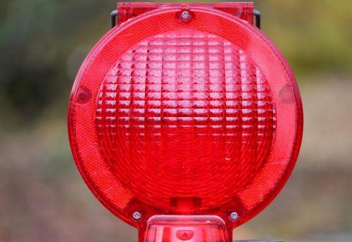 warning light warning lamp road sign