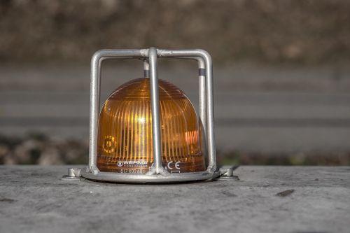 warning light orange clue lamp