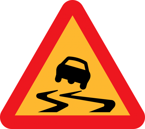 warning road sign roadsign caution road sign