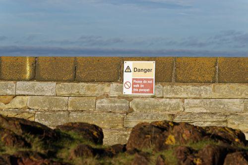 warning sign danger sign