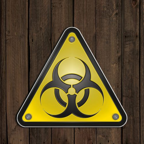 warning signs biohazard bacteria
