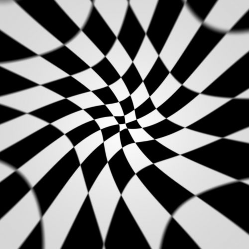 Warped Checkerboard