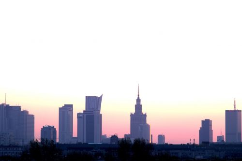 warsaw the capital of the poland