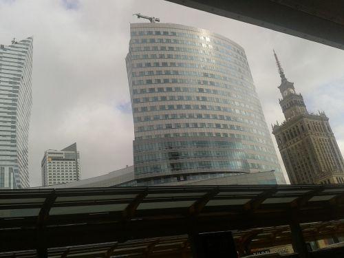 warsaw poland building