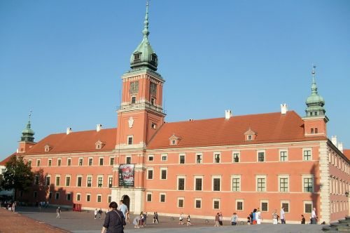 warsaw poland the old town