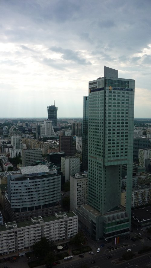 warsaw  poland  the capital of the