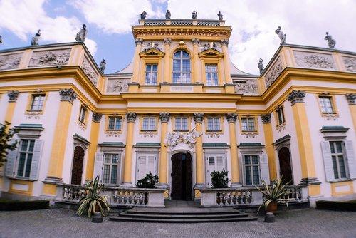 warsaw  wilanow  wilanow palace