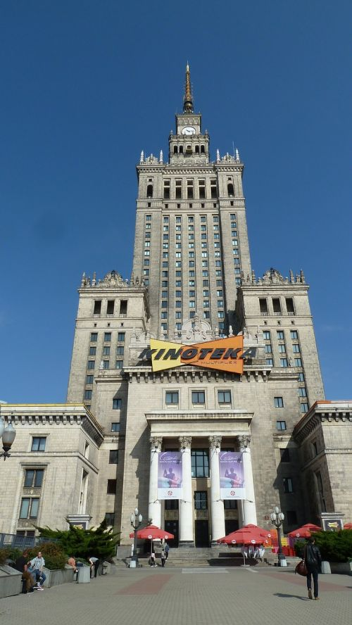warsaw palace of culture and science socialist classicism