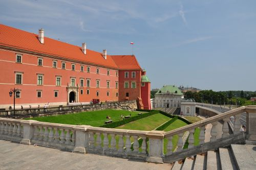 warsaw royal castle castle