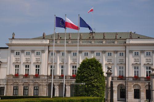 warsaw pałac namiestnikowski palace the presidential palace