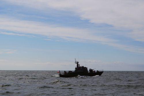 warship torpedo boat baltic sea