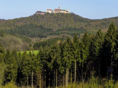 wartburg castle luther eisenach