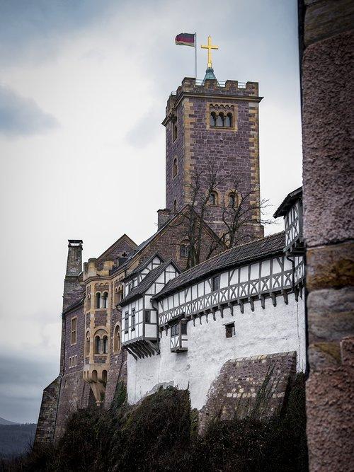 wartburg castle  castle  eisenach