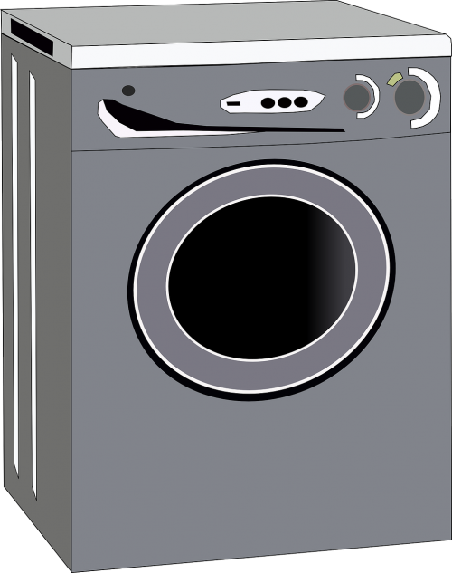 washing machine gray