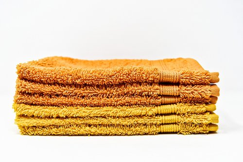 washing gloves  yellow  orange