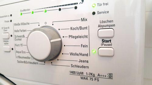washing machine white easy to clean