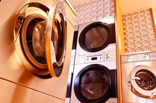 washing machine  dryer  launderette