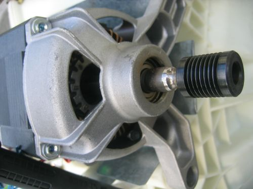 washing machine motor engine block