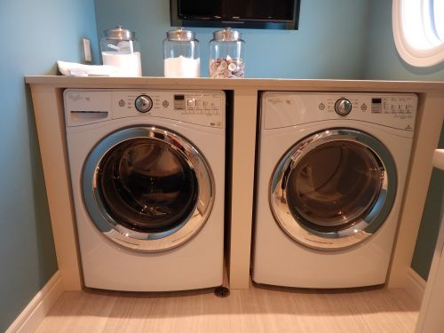 washing machine dryer laundry