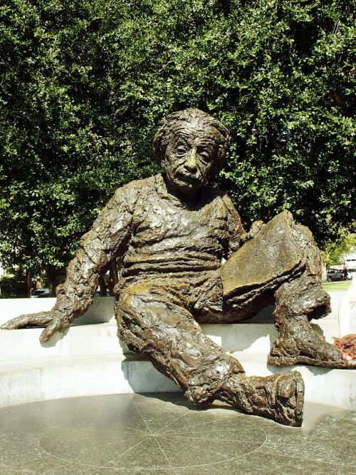 washington bronze einstein