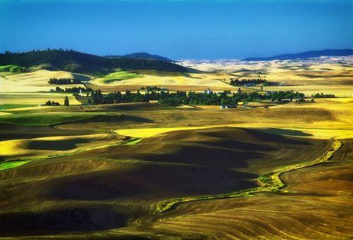 washington usa landscape