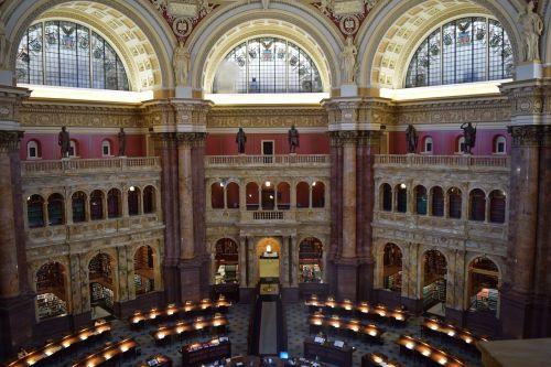 washington dc library of congress architecture