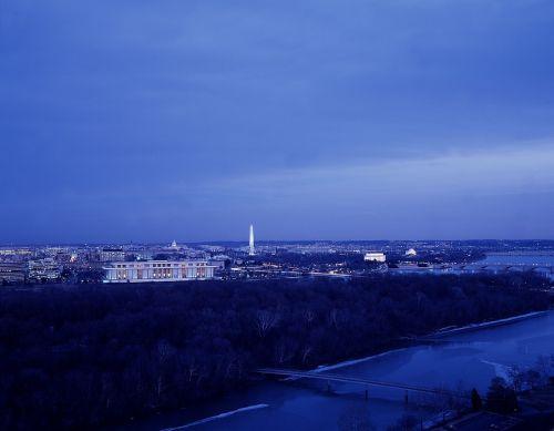 washington dc skyline cityscape