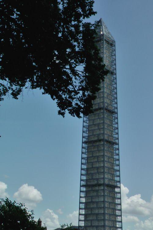 Washington Monument, Scaffolding