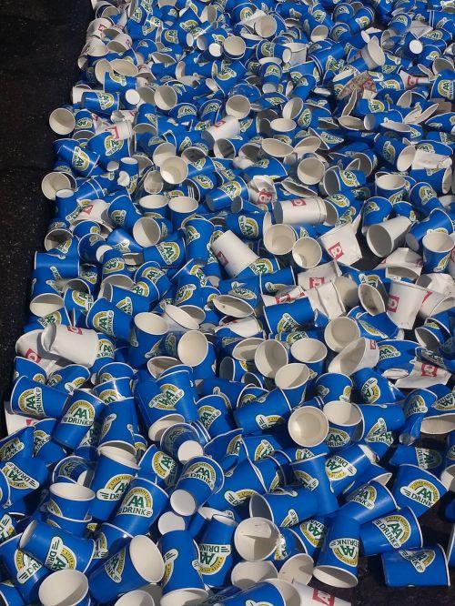 waste drinking marathon