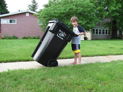 waste trashcan waste management