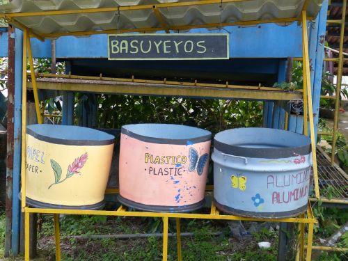 waste garbage made