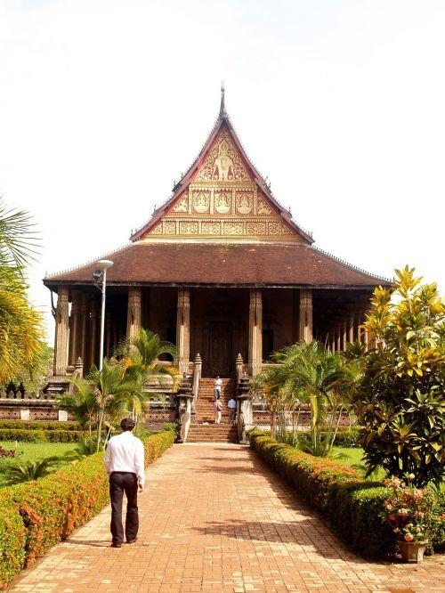 wat temple laos