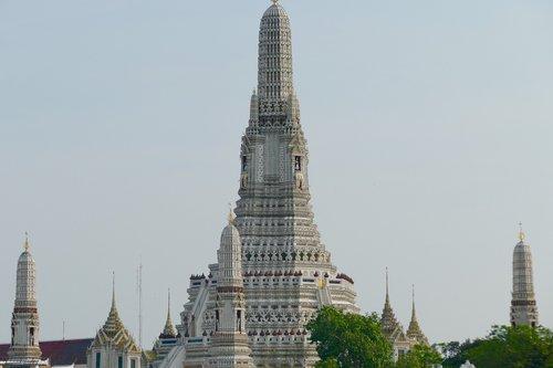 wat arun, Bankokas, Budizmas, Stupa, šventykla, Tailandas, Religija, tikėjimas, Wat, thai buda, meditacija, stogo, budistų, statyba, šventyklų kompleksas