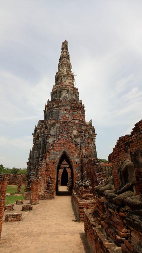 wat chai wattanaram ayutthaya archaeological site
