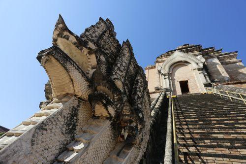 wat chedi luang relic temple