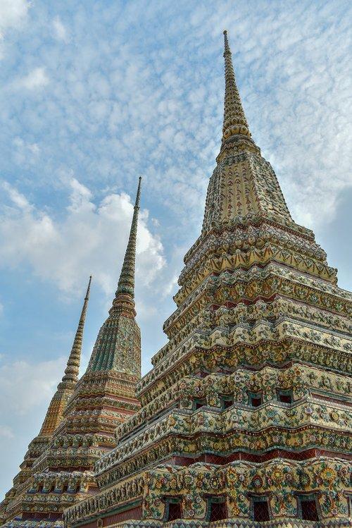 wat pho temple  thailand  temple