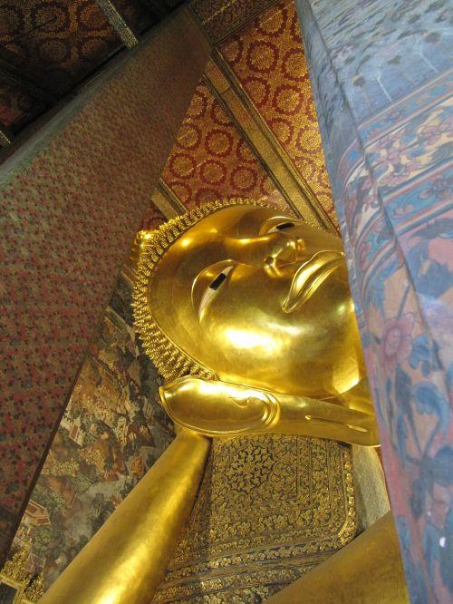 wat po buddha thailand