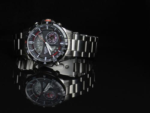 watch stopwatch steel