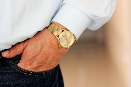 watch the hand wrist