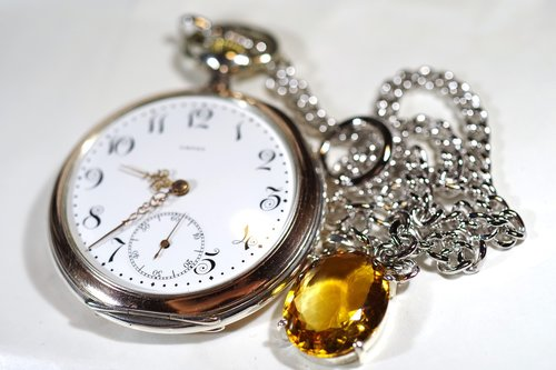 watch  pocket watch  銀時計
