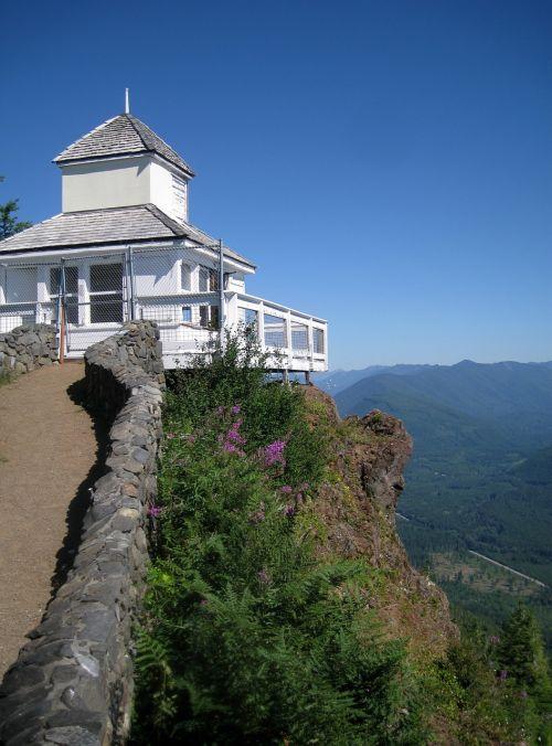 watch tower olympic peninsula view