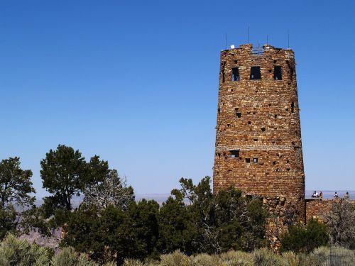 watch tower rocks stone