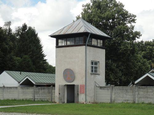watchtower dachau konzentrationslager