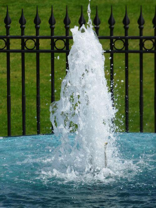 water fountain green