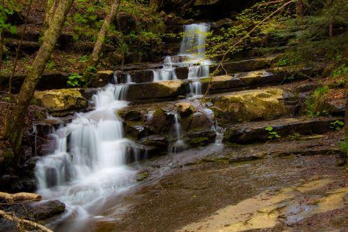 water cascade nature