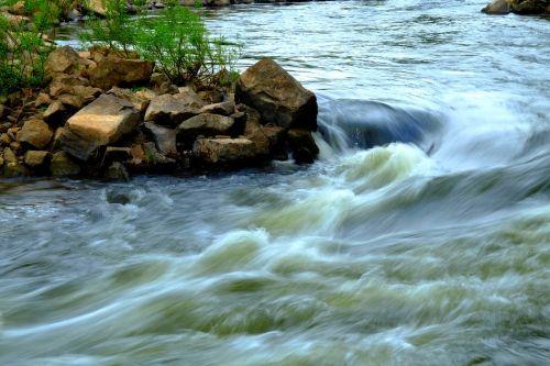 water rapids nature