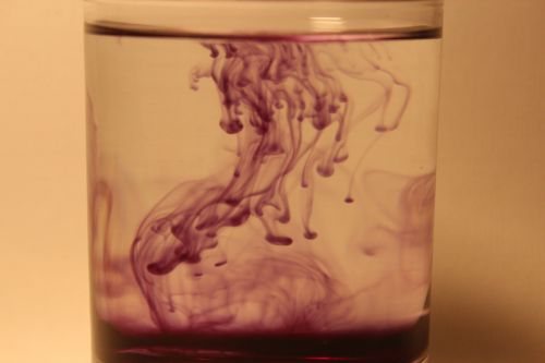 water ink drip