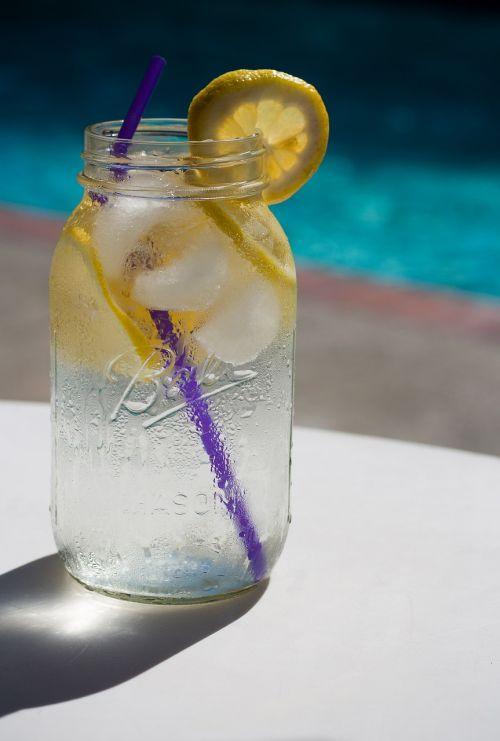 water lemon pool