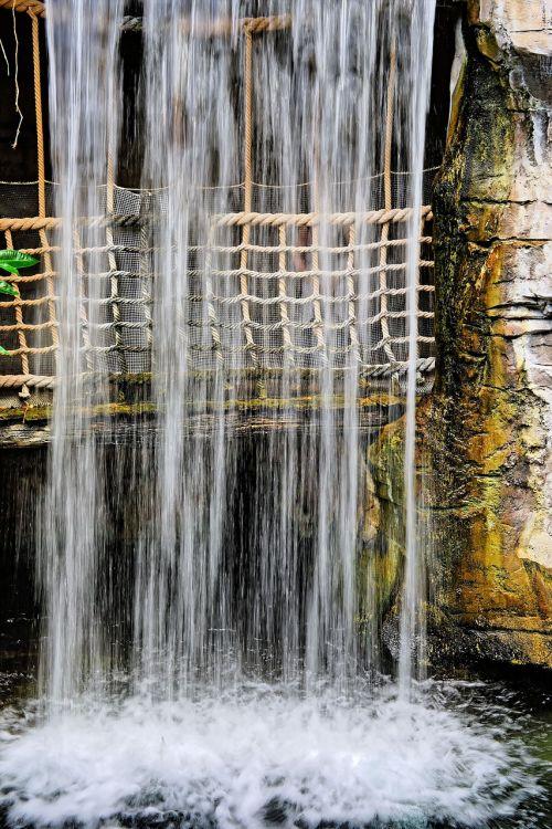 water waterfall movement