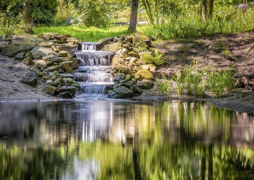 water mirroring reflection